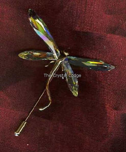 9af0beb2718cb Swarovski Paradise bugs Brooch dragonfly alibey crystal small 243089 ...